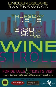 Lincoln Square Annual Fall Wine Stroll