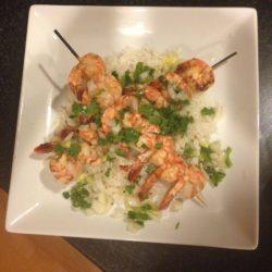 Paleo Tequila Shrimp